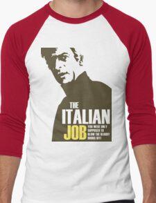 Michael Caine - The Italian Job Men's Baseball ¾ T-Shirt