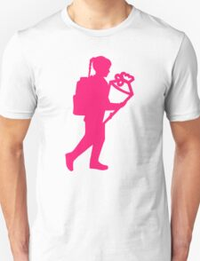 School enrollment girl Unisex T-Shirt