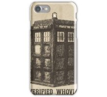 Doctor Who - Verified Whovian iPhone Case/Skin