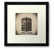 Doctor Who - Verified Whovian Framed Print