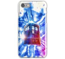 Tardis - Through the Rift iPhone Case/Skin