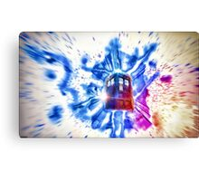 Tardis - Through the Rift Canvas Print