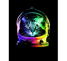 Astronaut Cat Photographic Print