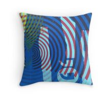 Air Quotes Throw Pillow