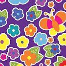 Flowers & Butterflies by evadelia