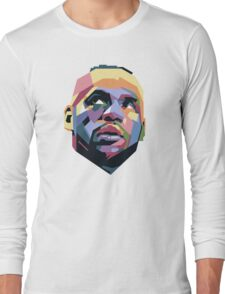King LeBron ART Long Sleeve T-Shirt