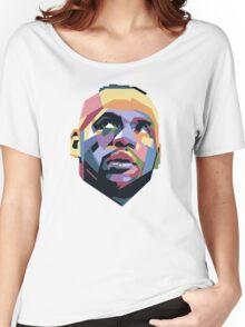 King LeBron ART Women's Relaxed Fit T-Shirt
