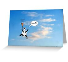 Sheep Can't Fly Greeting Card