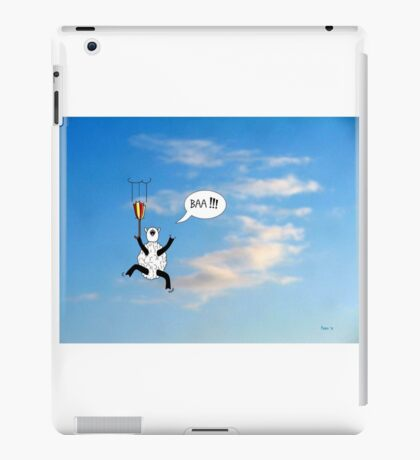 Sheep Can't Fly iPad Case/Skin