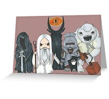 Mordor Greeting Card