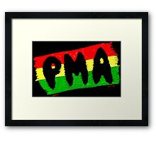 Positive Mental Attitude Framed Print