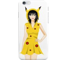 Pokemon Pikachu inspired model iPhone Case/Skin
