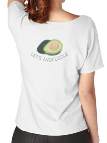 Let's Avocuddle Women's Relaxed Fit T-Shirt