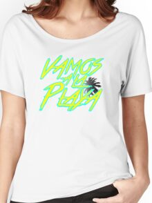 Vamos A La Playa Women's Relaxed Fit T-Shirt