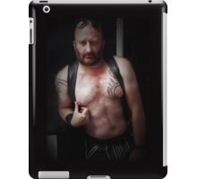 TROY - MUSCLE  & LEATHER  iPad Case/Skin