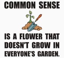 Common Sense Garden Kids Tee