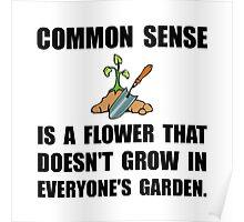 Common Sense Garden Poster