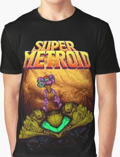 Super Metroid - Samus leaving Zebes Graphic T-Shirt