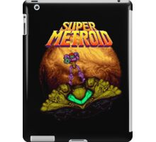 Super Metroid - Samus leaving Zebes iPad Case/Skin