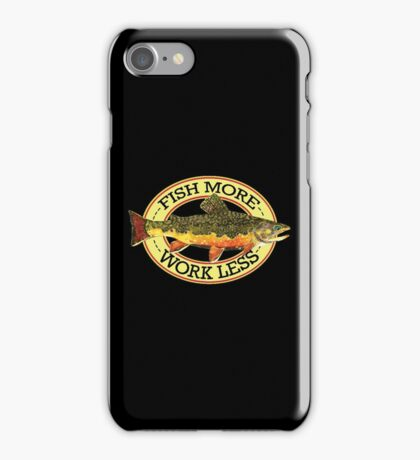 Humorous Fishing iPhone Case/Skin