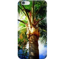 Under The Palm iPhone Case/Skin