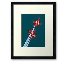 Red Arrows 50th Display Season Framed Print