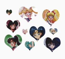 Sailor Moon Scouts Love Conqures All by m0nkeysp7ce