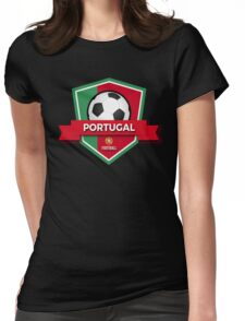Portugal Emblem Football Champion Euro 2016 Womens Fitted T-Shirt