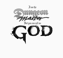 Dungeon Master = God Men's Baseball ¾ T-Shirt