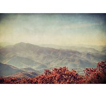 Autumn in North Carolina Photographic Print