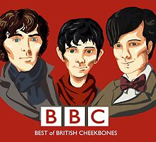 BBC: Best of British Cheekbones by Jayne Whitaker