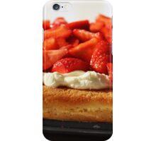 Strawberry Flan. iPhone Case/Skin