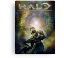 Halo Guardians Master Chief Canvas Print