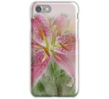 Pink Tiger Lilies iPhone Case/Skin