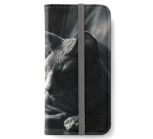 That moment of deep contemplation..   iPhone Wallet/Case/Skin
