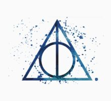 Deathly Hallows Blue  by DailyJohnLock