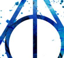 Deathly Hallows Blue  Sticker