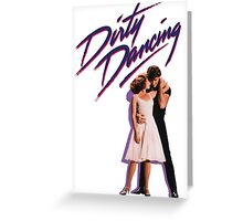 Dancing Dirty Greeting Card