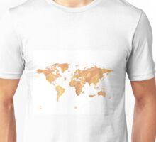 World map stone watercolor Unisex T-Shirt