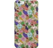 Vegetable Flowers iPhone Case/Skin
