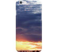 June Sunset Over Cedarville Bay iPhone Case/Skin