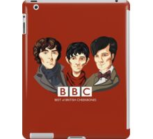 BBC: Best of British Cheekbones iPad Case/Skin