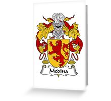 Medina Coat of Arms/Family Crest Greeting Card