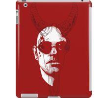 The Devil (red) iPad Case/Skin