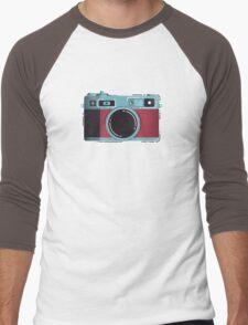 Little Yashica Men's Baseball ¾ T-Shirt