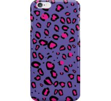 Animal Print Purple iPhone Case/Skin