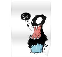 Venom in bucket Poster