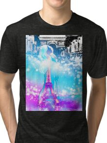 One Night in Paris Tri-blend T-Shirt