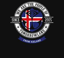 People of Tomorrowland Flags logo Badge -  Iceland - Ísland - icelandic - Islande Unisex T-Shirt