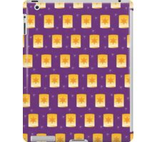 Floating Lanterns on Purple iPad Case/Skin
